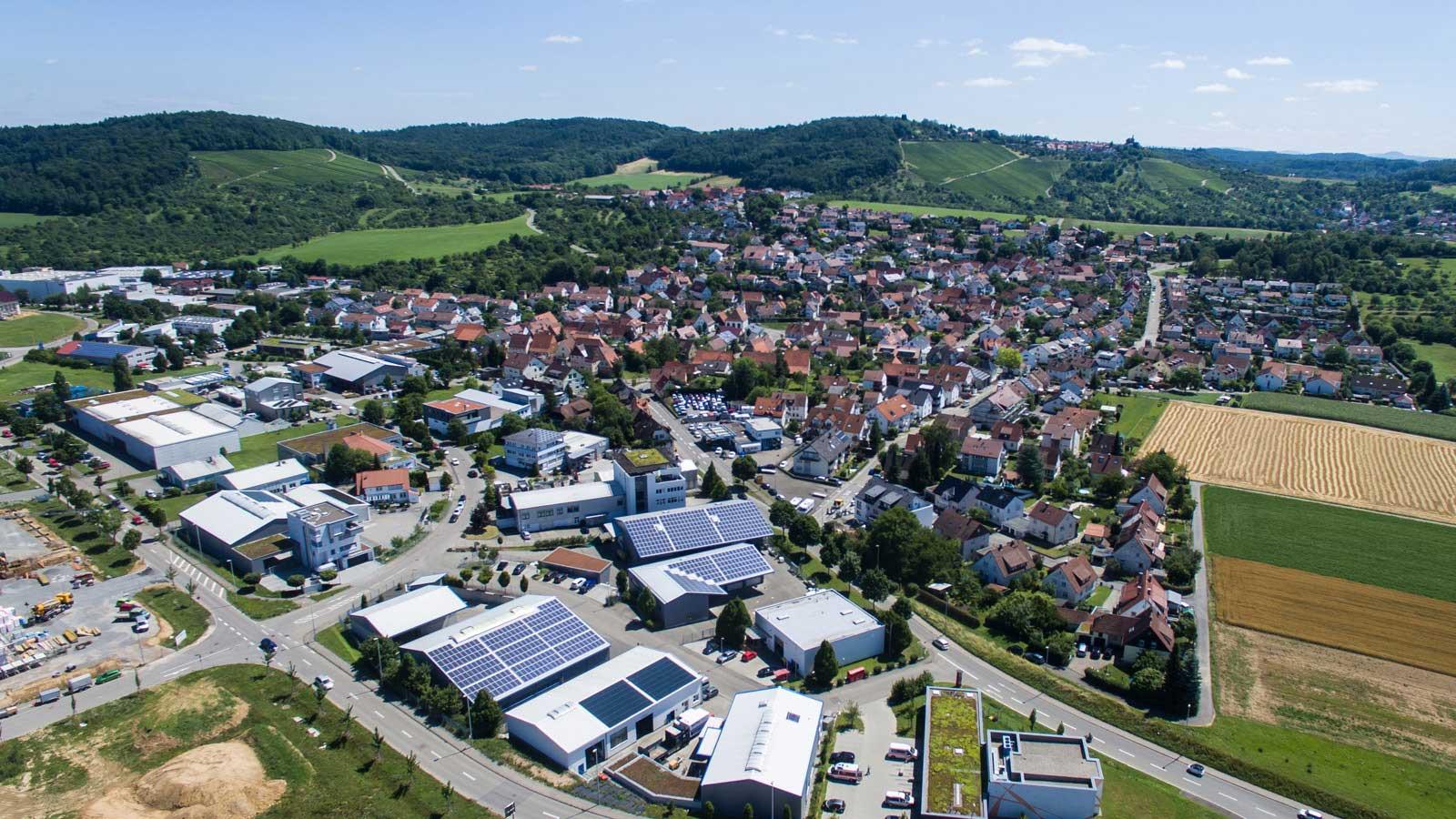 Hertmannsweiler Luftaufnahme